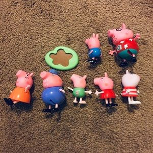 Peppa Pig Figurines.